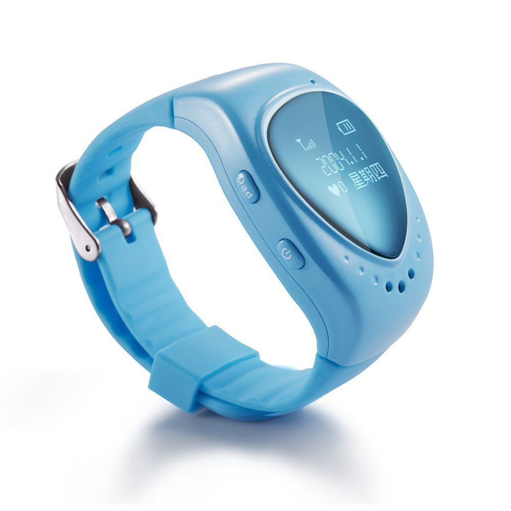 Free shipping!!GPS watch tracker for kids child gps bracelet google map, sos button, free apps gsm gps locator(China (Mainland))