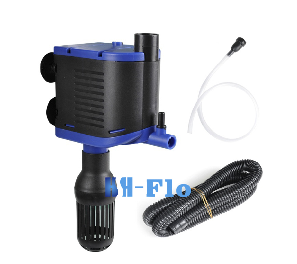 Submersible pump filter pump pumps oxygen pump aquarium for Underwater pond filter