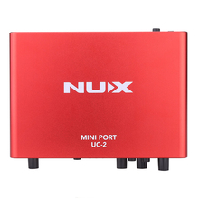 NUX UC-2 MINI PORT USB audio interface for guitar/bass or other music instruments(Hong Kong)
