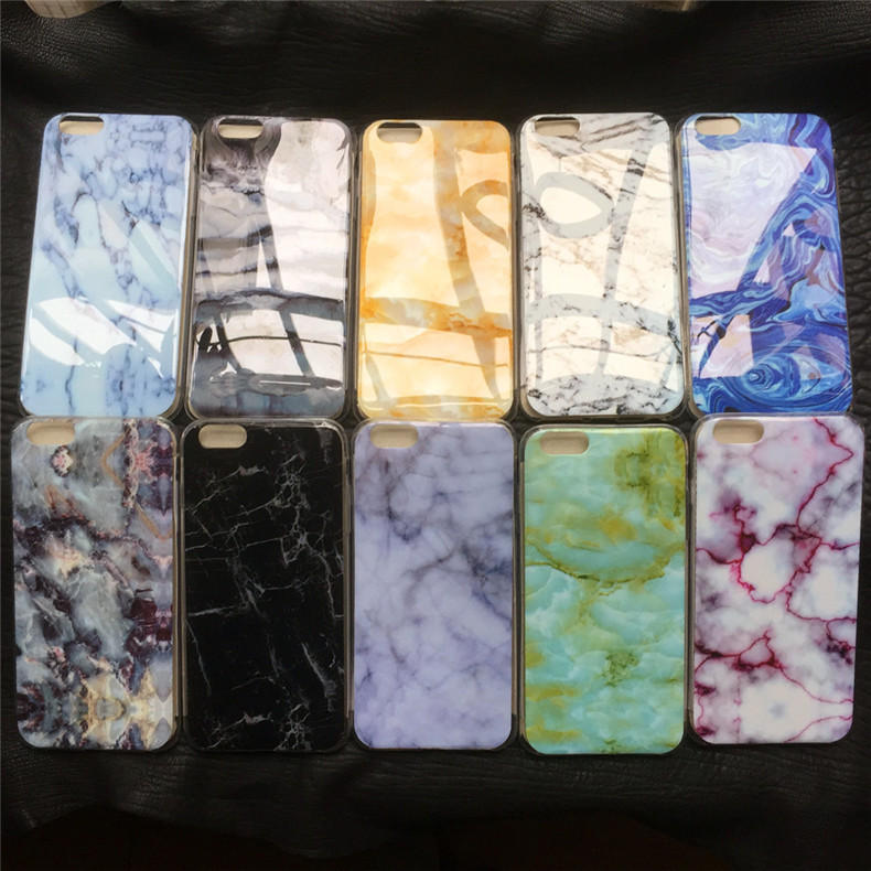 Stone Granite Marble Texture Pattern Soft TPU Silicone Case For iPhone 6 6S Plus 5 5S Back Cover Phone Cases Bags Fundas Capa(China (Mainland))