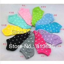 women s socks solid color love candy color dot sock women s thin sock slippers mix