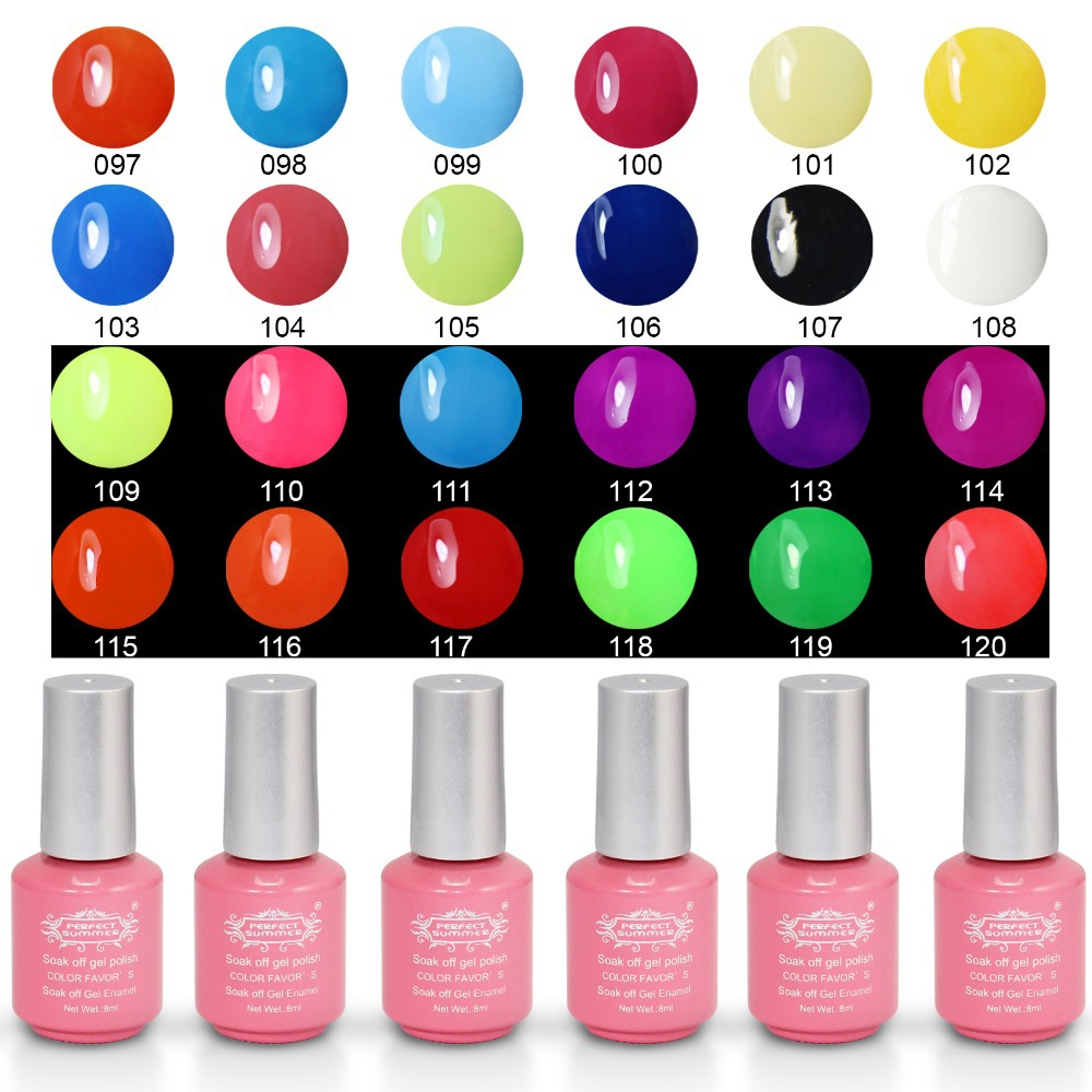 Perfect Summer Soak off Gel Polish 8ml cured led uv lamp special offer 240 colors fashion UV Gel Polish Nail Art Gel lacquer(China (Mainland))