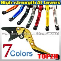 New High-strength AL 1 PCS Foldable Extend Clutch Lever for SUZUKI SV650/S 99-10 Z081