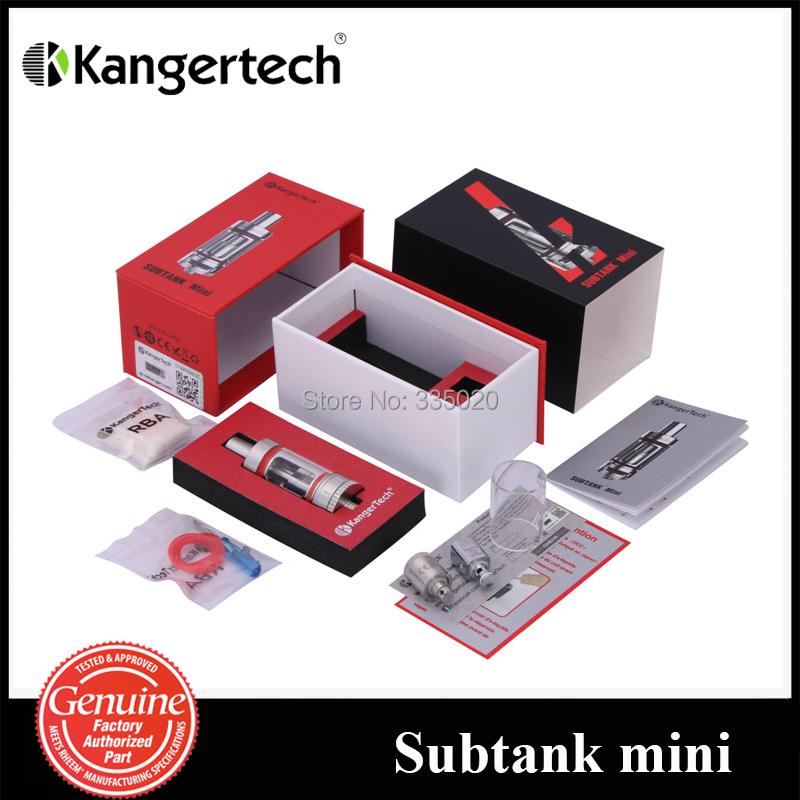 Original Kanger Subtank Mini Atomizer Pyrex Tank Replaceable OCC Coil 4 5ml Subtank Mini Tank