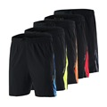 ARSUXEO 2016 Mens Running Shorts Outdoor Leisure Sports cycling Training Soccer Tennis Workout GYM Shorts Quick