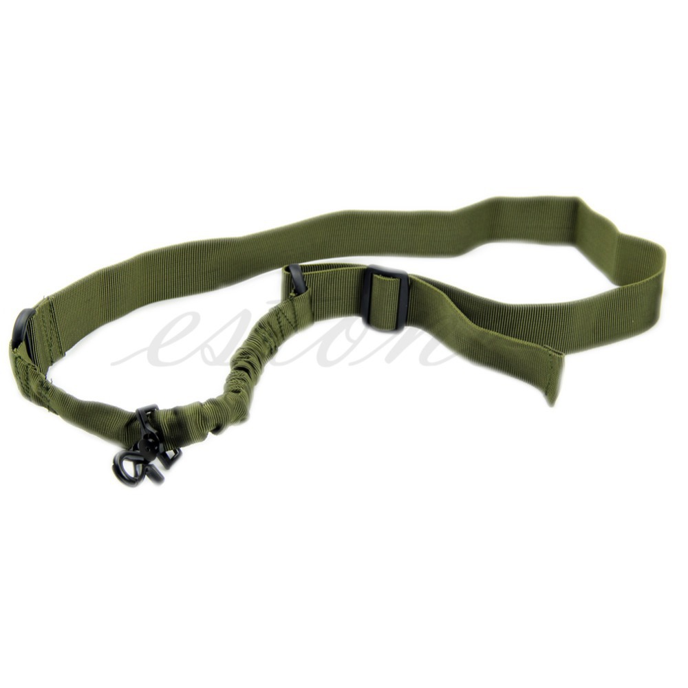 New Tactical ACU New One Single 1 Point Bungee Rifle Gun Airsoft Sling Adjustable