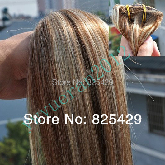 200g #2/613 brown mix blonde Virgin Brazilian Factory Outlet Price AAA+ 16-28 Remy Human Hair Extensions Weft  free shipping<br><br>Aliexpress