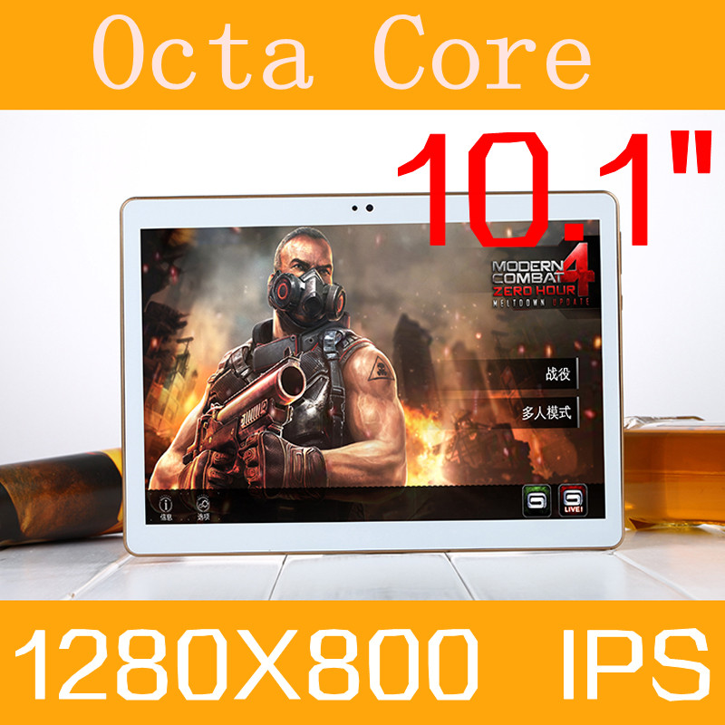 """10.1"""" Tablet PC 3g 4g tablet Octa Core 1280 * 800 ips 5.0mp 4g ram rom 128gb android 5.1 gps bluetooth Dual sim card Phone Call(China (Mainland))"""