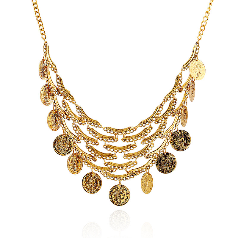 free shipping newest design cheap costume jewelry gold
