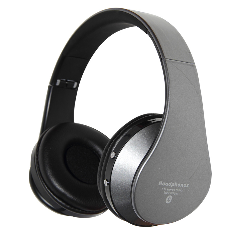 Consumer Electronics Folding Stereo Bluetooth Headset With TF Card FM Radio Wireless Bluetooth Headphones For iPhone