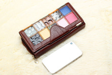 New Brand Designer 100 Genuine Leather Women s Wallet Luxury Bag Wallets Clutch Purse Phone cases