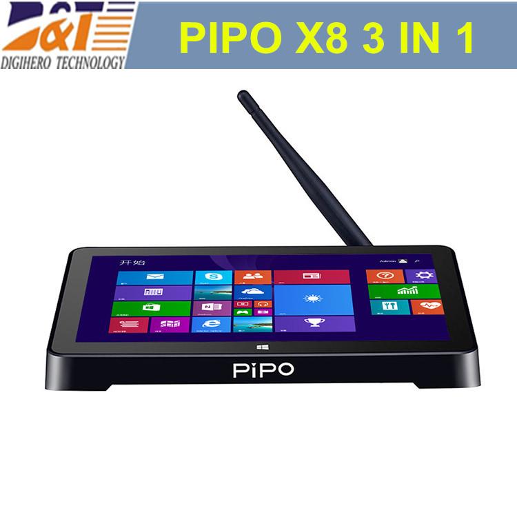 NEW Arrival !! 2015 PIPO X8 7inch 2G 64G Dual OS mini Computer+Mini PC+TV Box 1280*800 HDMI Windows 8.1 & Android 4.4 Quad Core(China (Mainland))