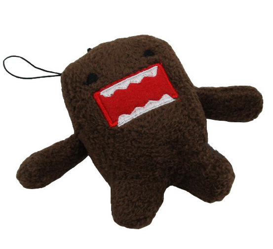 domokun funny domo-kun doll children creative gift the kawaii domo kun plush toy for baby boy girl kids party gift(China (Mainland))