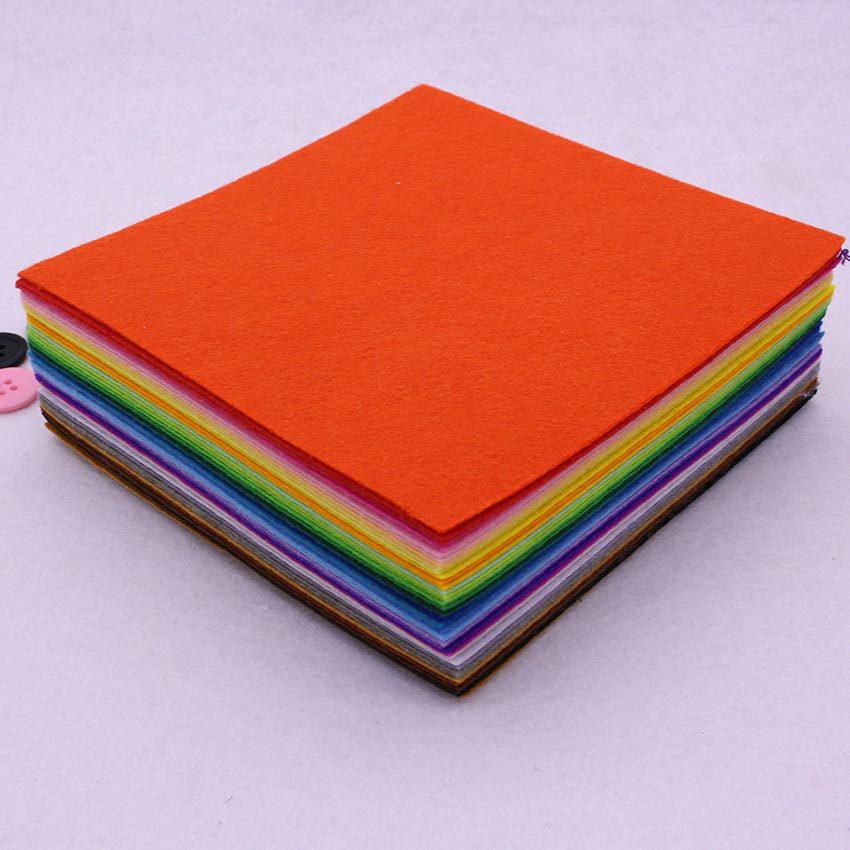 5.9 inchX5.9 inch Felt Fabric Non-Woven Fabrics ,Cloth ,15cmx15cm Polyester Acrylic Nonwoven,Needlework,Diy,Needle,Sewing,Handmade - C&M store