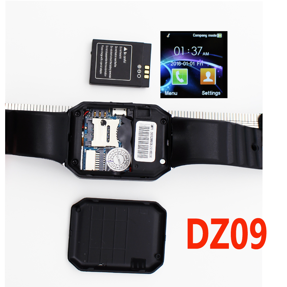 Smart Watch DZ09 Bluetooth Smartwatch Support SIM Card Phone Camera GSM/TF Men Wristwatch for IOS Android Phone VS U8 GV18 GT08(China (Mainland))