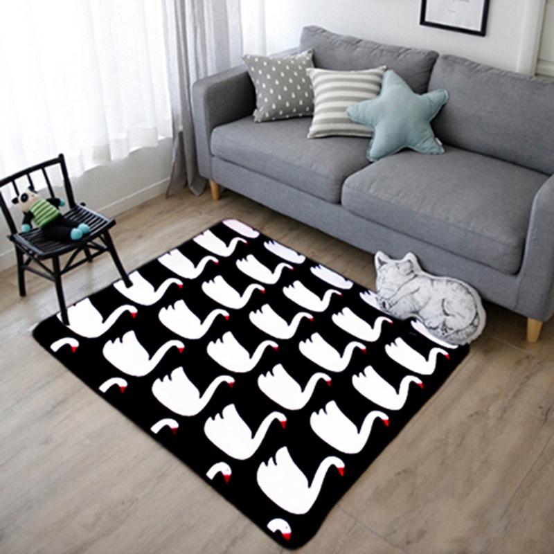 Compra negro alfombra peluda online al por mayor de china for Compra de alfombras