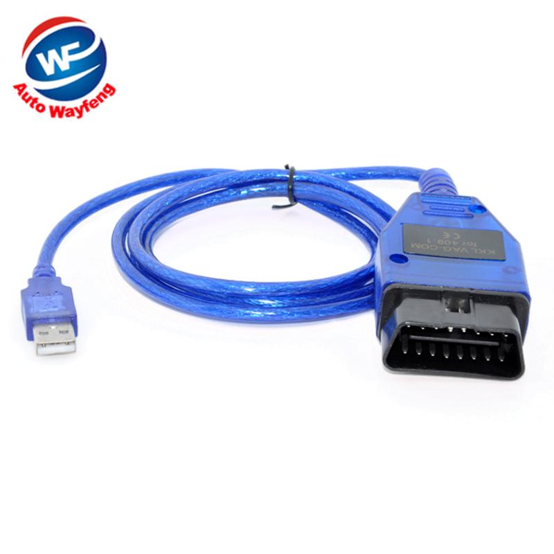 Vag 409 VAG-COM 409.1 Vag Com 409.1 KKL OBD2 USB Cable Scan Tool Interface For Audi VW SEAT SKODA Vag kkl USB Diagnostic Tool(China (Mainland))