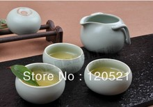 Jituan tea set kung fu tea set Ru kiln tea set 8pieces set Free shipping