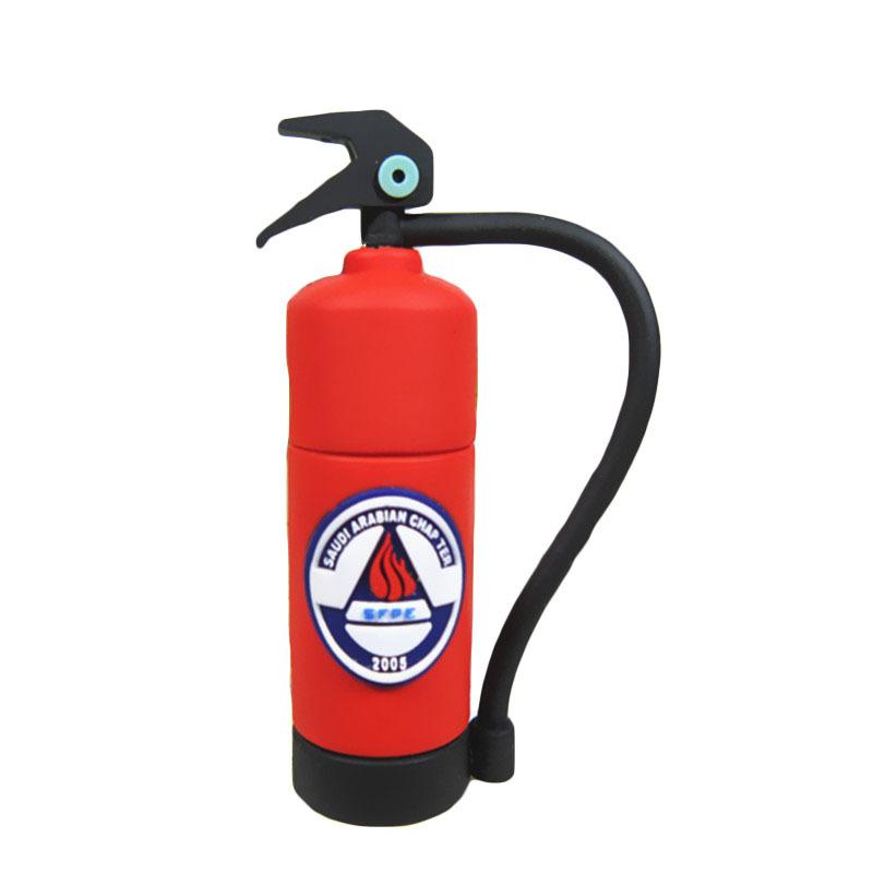 Wholesale pen drive Fire extinguisher 8gb 16gb 32gb 64gb usb 2.0 flash drive memory stick gift pendrive(China (Mainland))