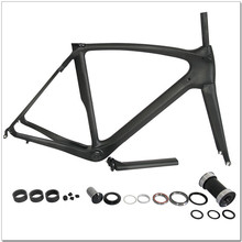 sales promotion full carbon 700c road frame carbon fiber t700 road bicycle frameset with fork and seatpost(China (Mainland))