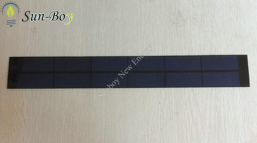 10pcs/lot 400*55mm 3V 1A Small PET Solar Panel(China (Mainland))