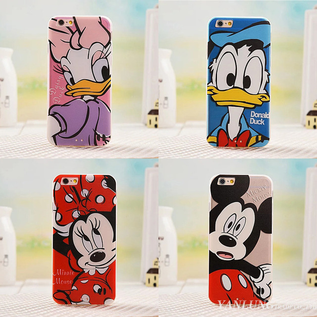 Case iPhone 6/6S/6 plus Donald Duck różne wzory