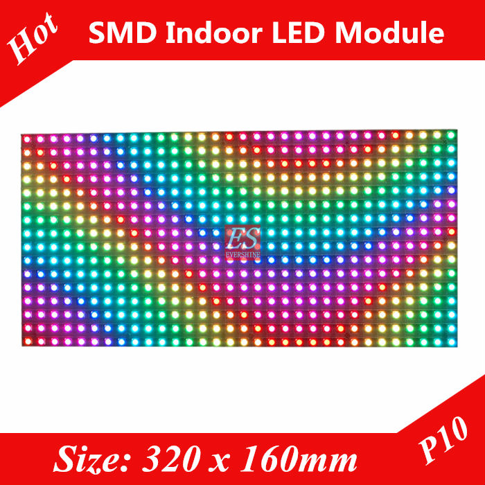 P10 Indoor Full Color Advertising media LED Display Module(China (Mainland))