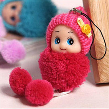 Kids Baby Plush Toys Cute Mini Dolls Pendant Gift For Girls Boys Toy Cartoon Movie 2015 Free Shipping(China (Mainland))
