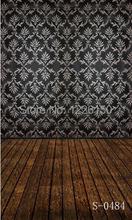Free interior wood floor Photo Backdrop S-0484,10x10ft studio photography Seamless backdrops,photography background vinyl