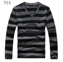 2016 man fake designer brand clothes mens jumper v neck male sweaters polo pullover L-4XL size 25