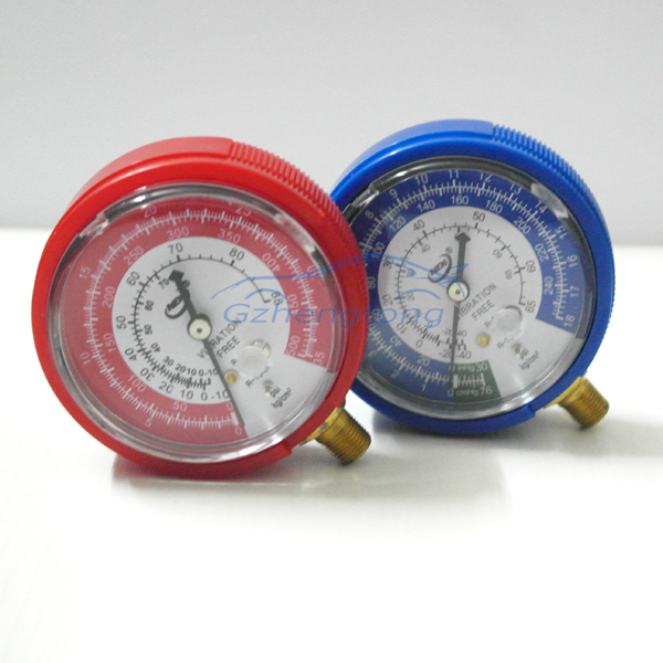 2pcs/Lot Car Air Conditioning High and Low Pressure Gauge Refrigerant R134A R12 Free Shipping<br><br>Aliexpress