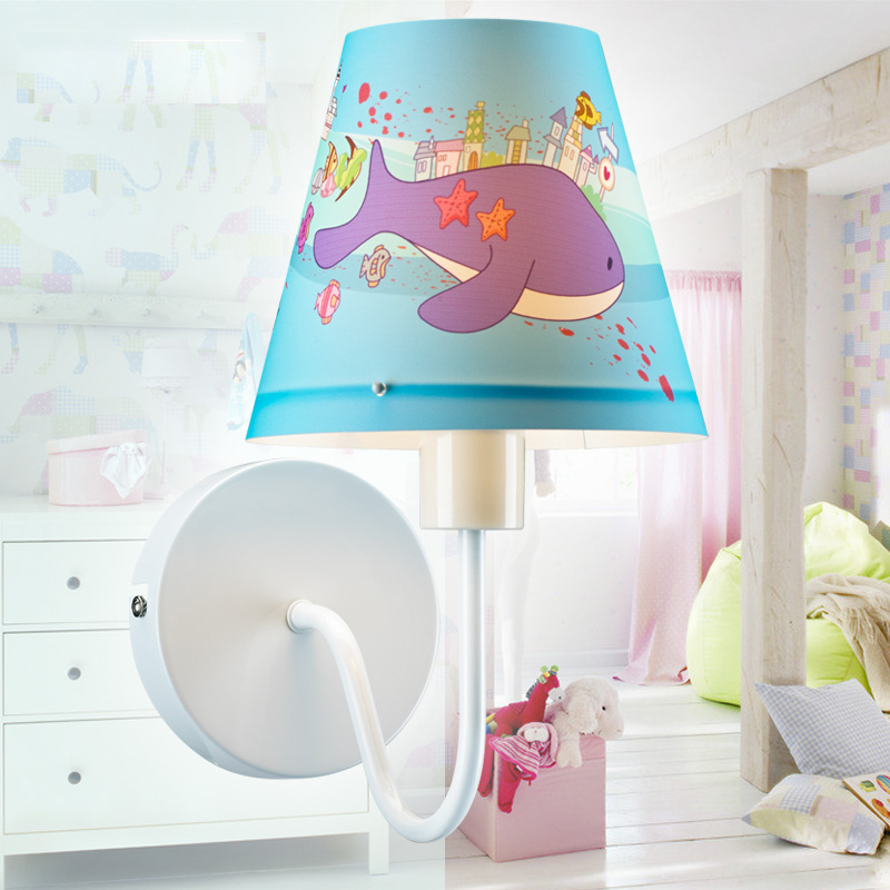 The New Arival Childrens Bedroom Book Room Energy-Saving Led Wall Light Boy and Girls Bedroom All-match Wall Lamp Bedside Lamp<br><br>Aliexpress