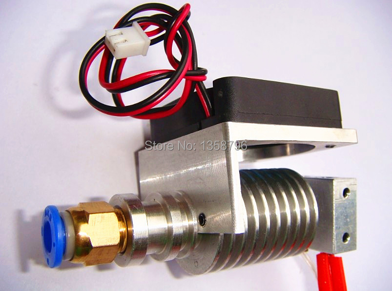 3D Printer Parts J head Hotend with Single Cooling Fan for 1 75mm 3 0mm E3D