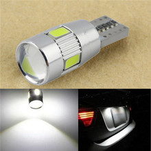 1PC parking HID White CANBUS T10 W5W 5630 6-SMD Car Auto LED Light Bulb Lamp 194 192 158(China (Mainland))