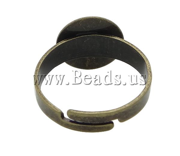 Free shipping!!!Brass Pad Ring Base,Sexy jewelry, antique bronze color plated, nickel, lead & cadmium free, 12mm