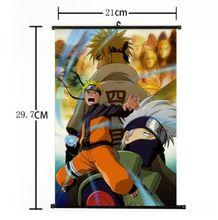 New Hot Japan Anime Cool Naruto Kakashi Home Decor Poster Wall Scroll