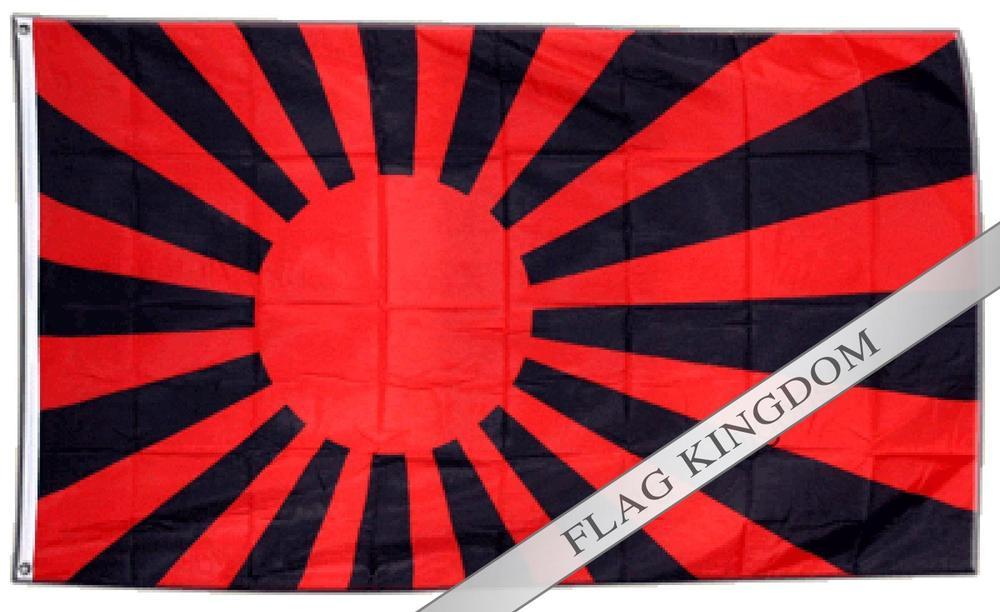 Flag Fan Flag red black - 90 x 150 cm Hoisting Flag(China (Mainland))