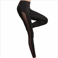 Buy Summer Women Workout Leggings Push-up Sporting Leggings Mesh Transparent Elastic Skinny Fitness Leggings Women Net Yarn Pants for $5.29 in AliExpress store