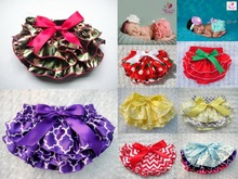 Baby Ruffle Bloomers Layers Diaper Cover Newborn Flower Shorts Skirt Toddler Summer Satin Photography Props Pants Free Drop Ship(China (Mainland))