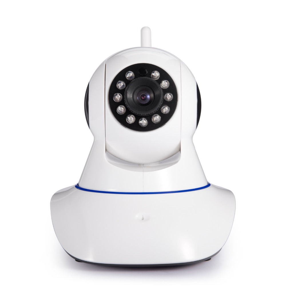 Onvif 720P Wifi ANNKE Wireless HD IP Camera 1.0 Megapixel H.264 P2P Support 64G TF Card Pan &amp; Tilt IP/Network IP Cam<br><br>Aliexpress