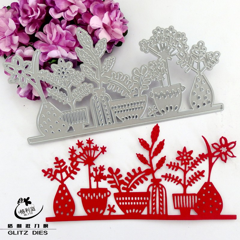 Lovely Bonsai metal die cutting dies scrapbooking embossing folder suit for sizzix fustella big shot cutting machine(China (Mainland))