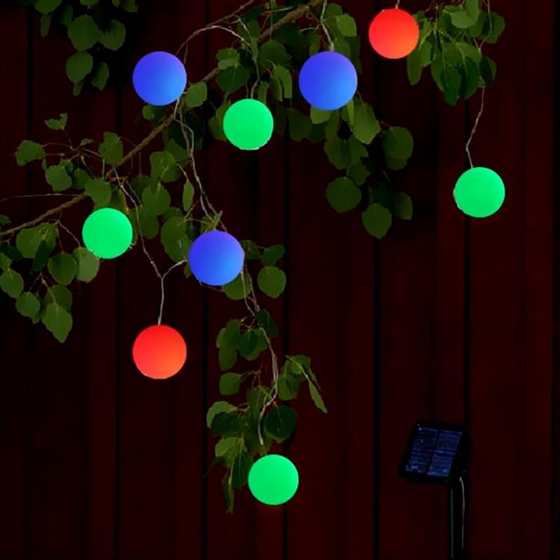 Lantern String Lights Outdoor Patio : 10M 20 Leds Solar Fairy Light led string Garden Ball Light Outdoor Wedding Lantern Home ...