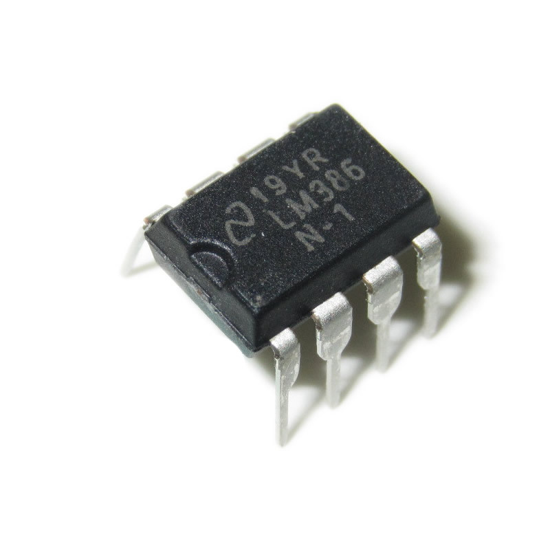F058 Free shipping 10PCS LM386N-1 Low Voltage Audio Power Amplifier LM386 LM386N DIP-8 amplifier circuit(China (Mainland))