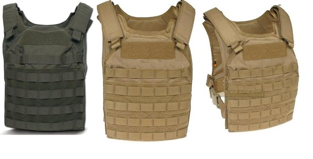 1000D Tactical Molle Fast Attack Plate Carrier Vest FAPC-4E STA Protection NIJ IV level