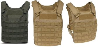 Flyye 1000D Tactical Molle Fast Attack Plate Carrier Vest FAPC-4E STA Protection NIJ IV level