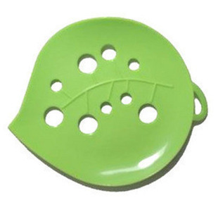 Soap must be equipped with tools lovely leafy shape compact formula of high quality plastic soap dish without cover freeness 14g(China (Mainland))