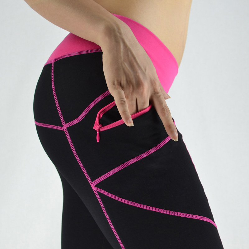 yoga pants with zipper pockets - Pi Pants