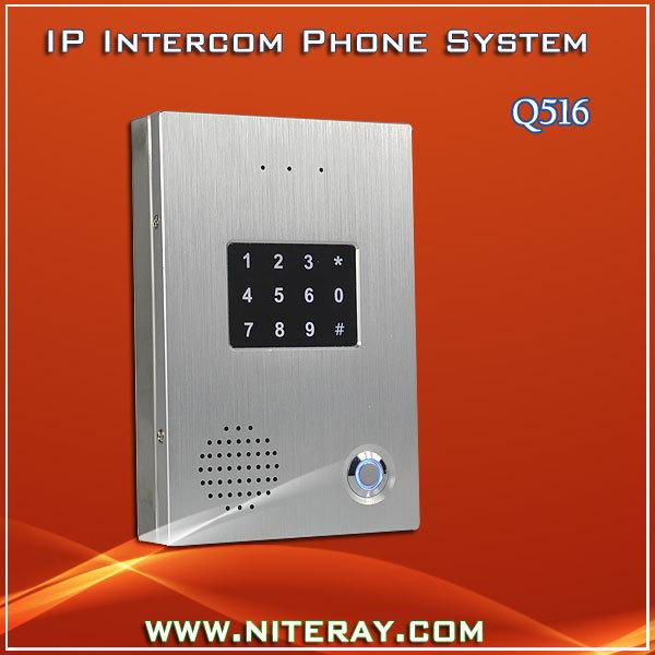 Waterproof TCP door phone IP door access phone lock<br><br>Aliexpress