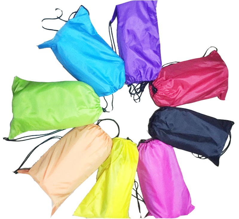 20pc Outdoor hangout indoor furniture sovepose Camping Bed Beach Sofa Air Bag Lounger terylene infaltable Sleeping bags(China (Mainland))