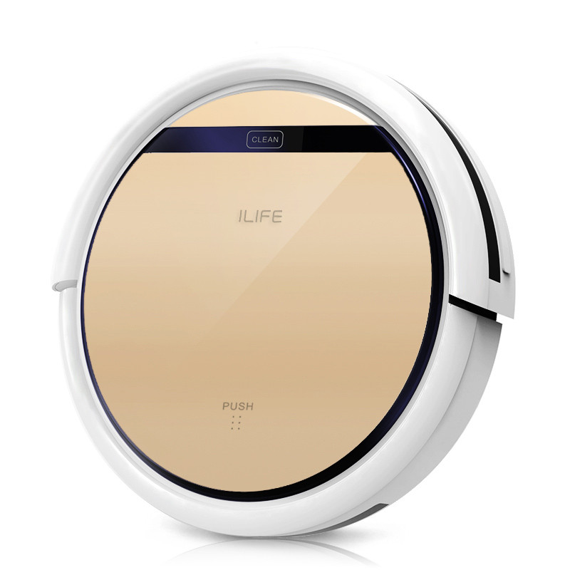 ILife V5 Pro CHUWI intelligent Mop Robot Vacuum Cleaner for Home, Golden lid HEPA Filter,Sensor,household cleaning(China (Mainland))